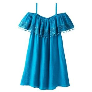 Girl's Strappy PomPom Dress Size 6